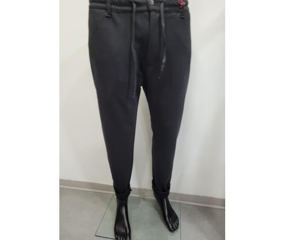 Pantalone con elastico nero 1