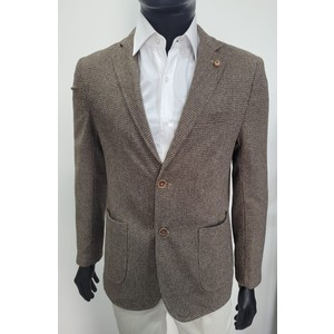 Giacca in velluto beige