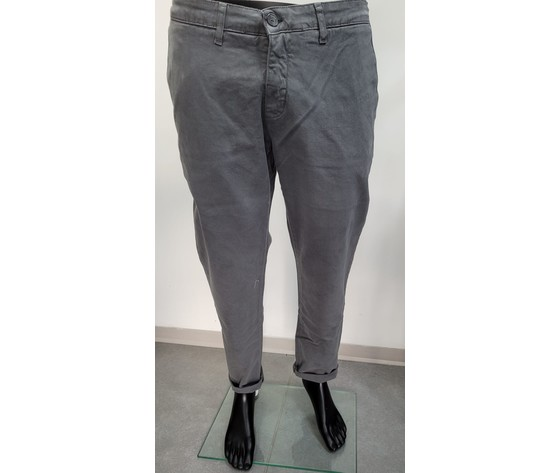 Pantalone regular grigio 1