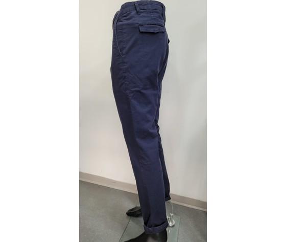 Pantalone regular blu 2