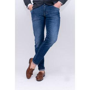 Jeans denim 5 tasche slim