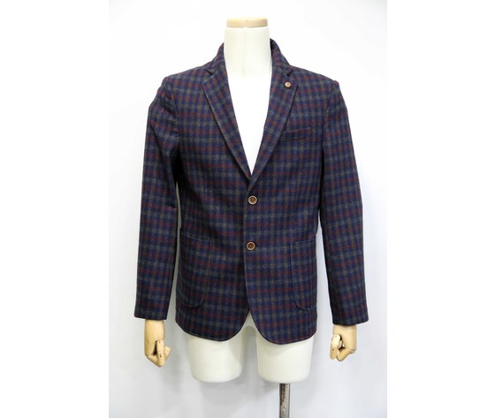 Giacca lana bavero stretto tascha top sfant 1