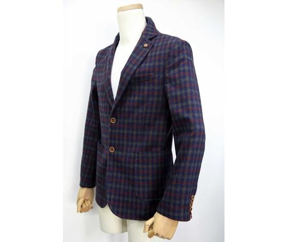 Giacca lana bavero stretto tascha top sfant 2