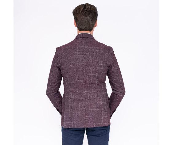9 retro giacca bordeux