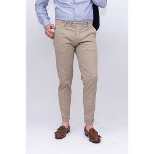 Pantalone tasca america capri lino/cotone