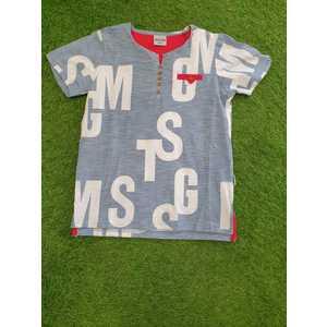 T-shirt lettere m.