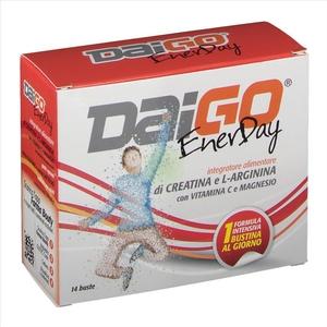 Daigo enerday integratore alimentare stanchezza gusto agrumi 14 buste