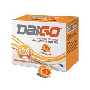Daigo Magnesio E Potassio Arancia 24+6 Bustine 240g