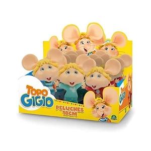Topo Gigio Plush 18cm - Grandi Giochi
