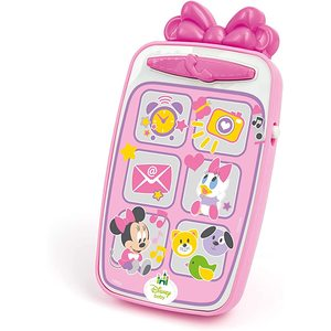 Baby Clementoni - Disney Minnie&Mickey Smartphone 9m+