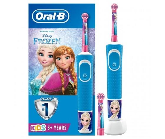 Oral b kids spazzolino elettrico 1 manico frozen 3 anni