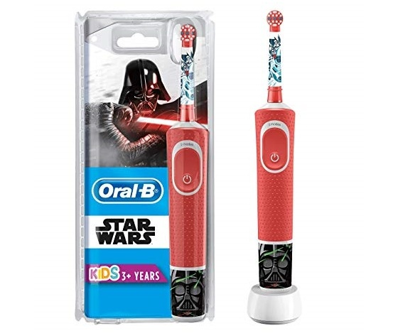 Oral b spazzolino elettrico ricaricabile bambini dai 3 anni personaggi di star wars 15