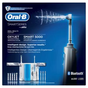 ORAL-B SMART SERIES SPAZZOLINO ELETTRICO SMART 5000 E IDROPULSORE OXYJET