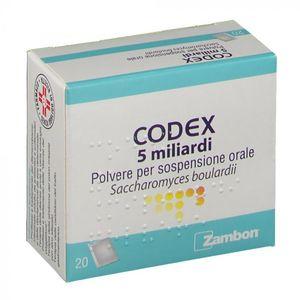 Codex 5 Miliardi Sospensione Orale 20 Bustine