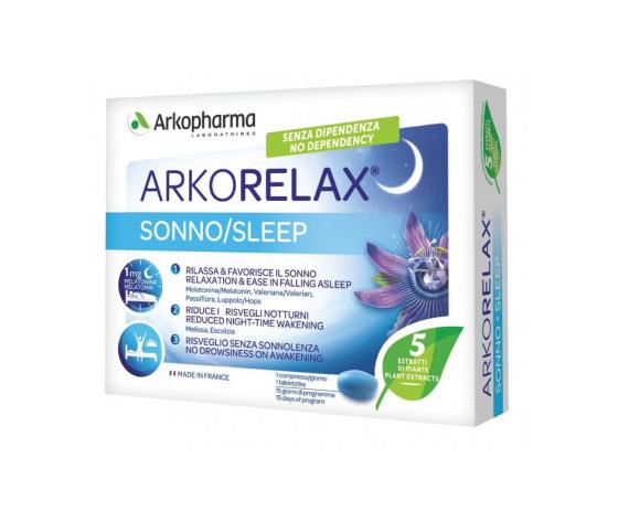 Arkorelax sonno ultima versione no diossido di titanio 91050107