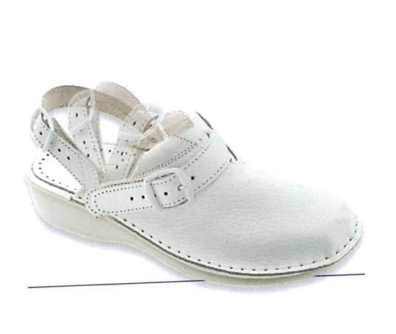 Shoes non forato donna con laccio posteriore