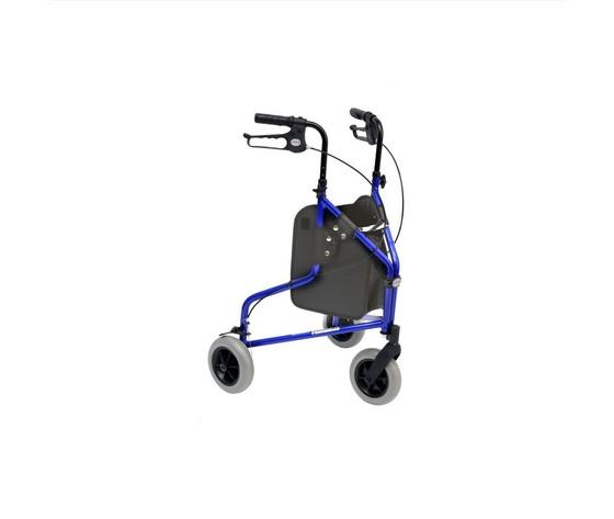 Deambulatore tipo Rollator 3 ruote