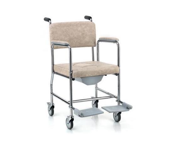 Sedia da comodo con ruote ortopedia fagiani - Sedia con ruote ...