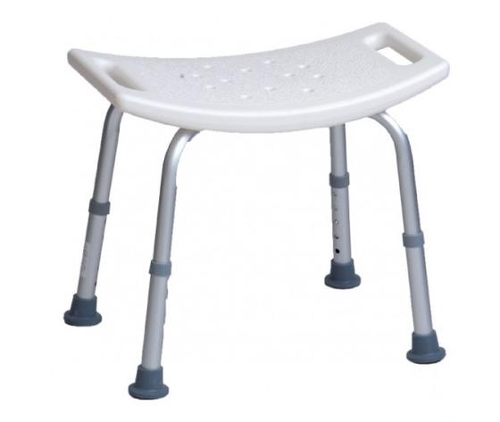 Sedile per doccia senza schienale