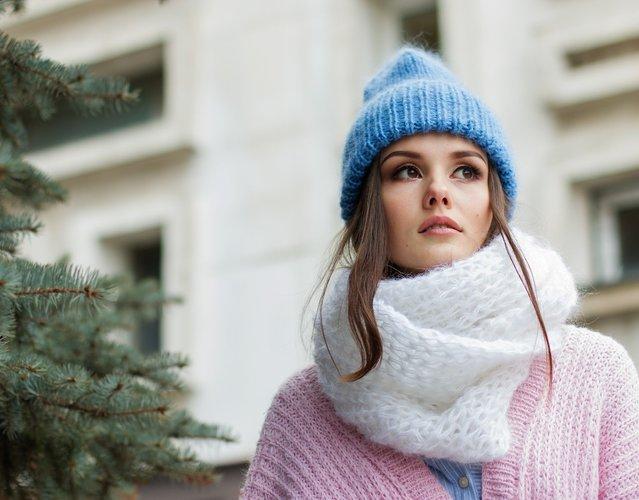 Ragazza moda inverno