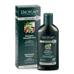 BIOKAP Shampoo Riequilibrante con Zenzero e Boswellia