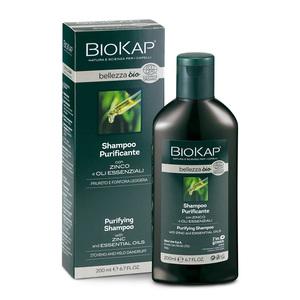 BIOKAP Shampoo Purificante con Zinco e Oli essenziali