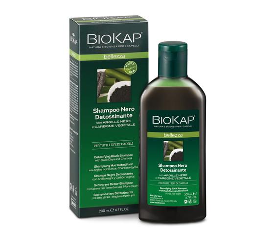 Biokap shampoo nero detossinante 2018