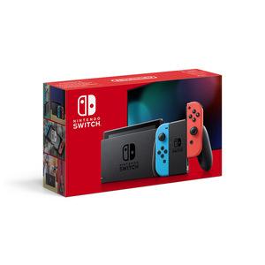 """Nintendo Switch V2 2019 console da gioco portatile 15,8 cm (6.2"""") 32 GB Wi-Fi Nero, Blu, Rosso"""