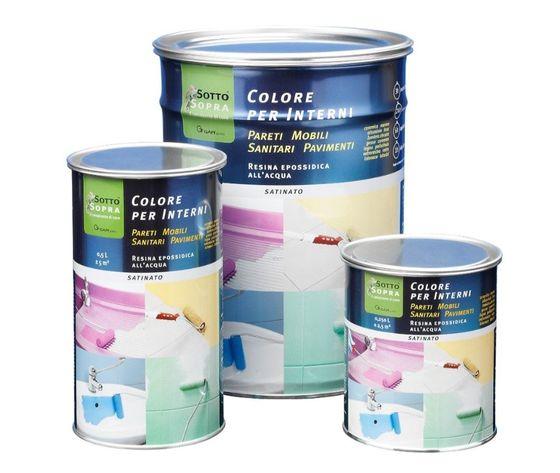 3174 latta vari formati gapi sottosopra colore per interni 250ml 500ml