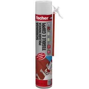 Schiuma Poliuretanica c/cannuccia per tegole e coppi 750 ml - FISCHER