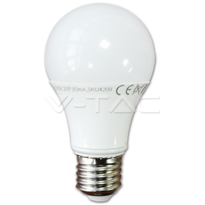 Lampadina LED 10 W 806Lm Base E27 Luce Fredda 6000K - V-TAC