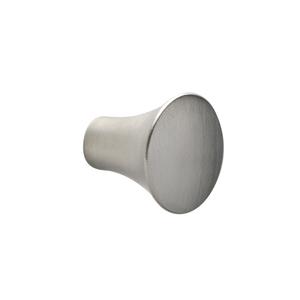 Pomello in acciaio inox satinato d. 20 mm - MITAL