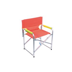 Sedia Regista Alluminio rivestimento Oxford Arancio - ENRICO COVERI MARE
