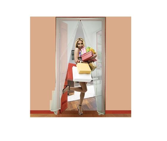 Zanzariera a strappo Adesiva Bianco Per porte 140x250 cm - IRS