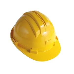 Elmetto di protezione giallo in polipropilene 52-61 cm - ARES