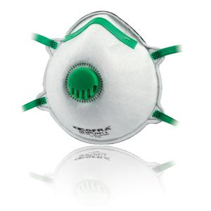 Mascherina di protezione a conchiglia con valvola di esalazione - COFRA