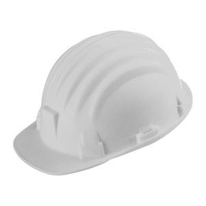 Elmetto di protezione bianco in polipropilene 52-61 cm - ARES