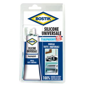 Silicone Universale Trasparente 60 ml - BOSTIK