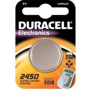 Batteria Duracell a bottone 2450
