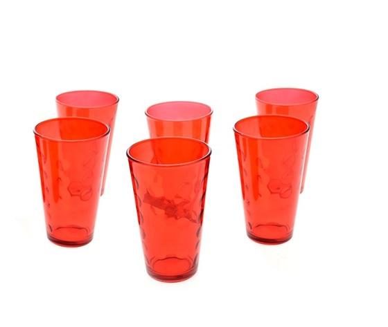 Set 6 bicchieri Rossi 47cl - Nataluna