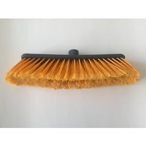 Scopa casalinga francesina in nylon arancione