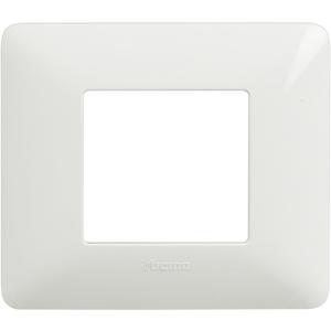 Placca 2 Moduli Serie Matix Bianco - BTICINO