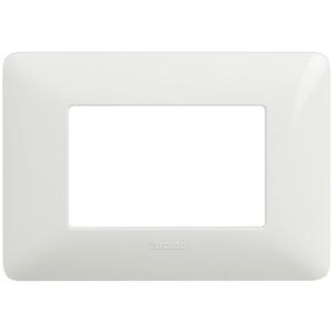 Placca 3 Moduli Serie Matix Bianco - BTICINO