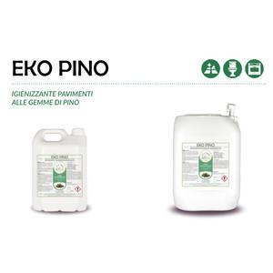 """""""EKO PINO"""" IGIENIZZANTE ECOLOGICO LIQUIDO PROFESSIONALE PER PAVIMENTI - 1 CARTONE da 1 tanica da 20 kg"""