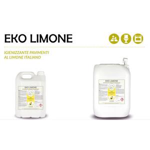 """""""EKO LIMONE"""" IGIENIZZANTE ECOLOGICO LIQUIDO PROFESSIONALE PER PAVIMENTI - 1 CARTONE da 2 taniche da 5 kg"""