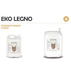 """""""EKO LEGNO"""" DETERGENTE SPECIFICO ECOLOGICO LIQUIDO PROFESSIONALE PER LEGNO E PARQUET - 1 CARTONE da 2 taniche da 5 kg"""