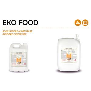 """""""EKO FOOD"""" SGRASSATORE ALIMENTARE ECOLOGICO INODORE ED INCOLORE LIQUIDO PROFESSIONALE - 1 CARTONE da 1 taniche da 20 kg"""