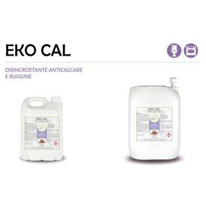 """""""EKO CAL"""" DISINCROSTANTE ECOLOGICO LIQUIDO PROFESSIONALE PER CALCARE E RUGGINE - 1 CARTONE da 2 taniche da 5 kg"""