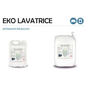 """""""EKO LAVATRICE"""" DETERGENTE ECOLOGICO LIQUIDO PROFESSIONALE PER IL LAVAGGIO DEL BUCATO IN LAVATRICE - 1 CARTONE da 2 taniche da 5 kg"""