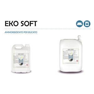 """""""EKO SOFT"""" AMMORBIDENTE ECOLOGICO LIQUIDO PROFESSIONALE PER IL LAVAGGIO DEL BUCATO IN LAVATRICE - 1 CARTONE da 2 taniche da 5 kg"""